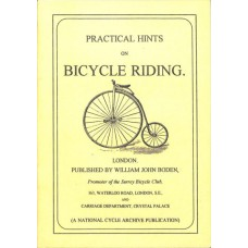 Boden JW - Practical Hints on Bicycle Riding (Reprint No. 4)