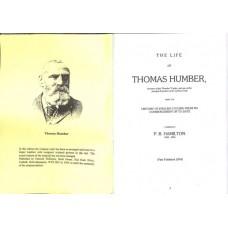 Hamilton PB The Life of Thomas Humber (Reprint No. 11)